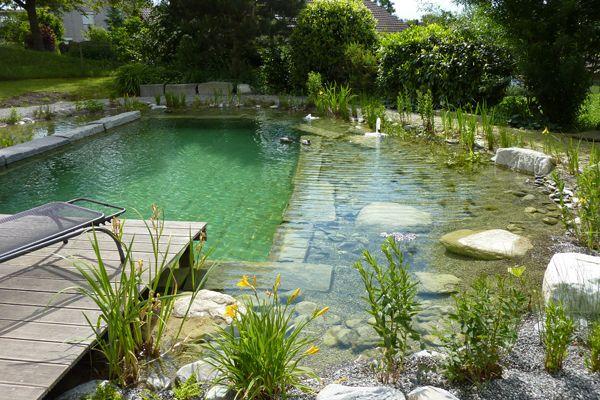 TEICHBAU AXEL DIETERICH - TEICHBAU - Schwimmteiche natural pool - bilder gartenteiche mit bachlauf
