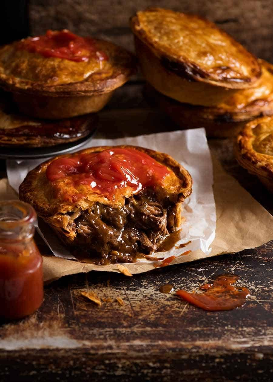 Aussie Meat Pie | Recipe (With images) | Meat pie recipe ...