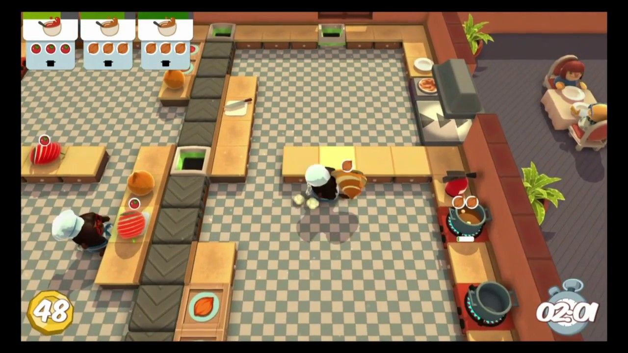 Overcooked- The 3-Star Assembly Line Soup Kitchen (part 2)