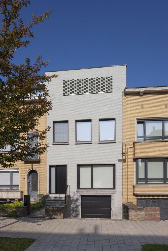 En images La rénovation contemporaine et fonctionnelle du0027une maison - plan de maison mitoyenne