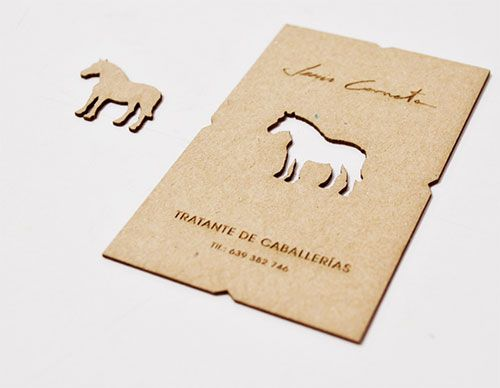 Business Card For Horse Dealer The Best Of Business Card Design Business Card Inspiration Business Card Design Business Cards Creative