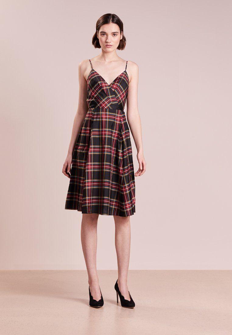 DISC DRESS STEWART PLAID - Cocktailkleid/festliches Kleid - red