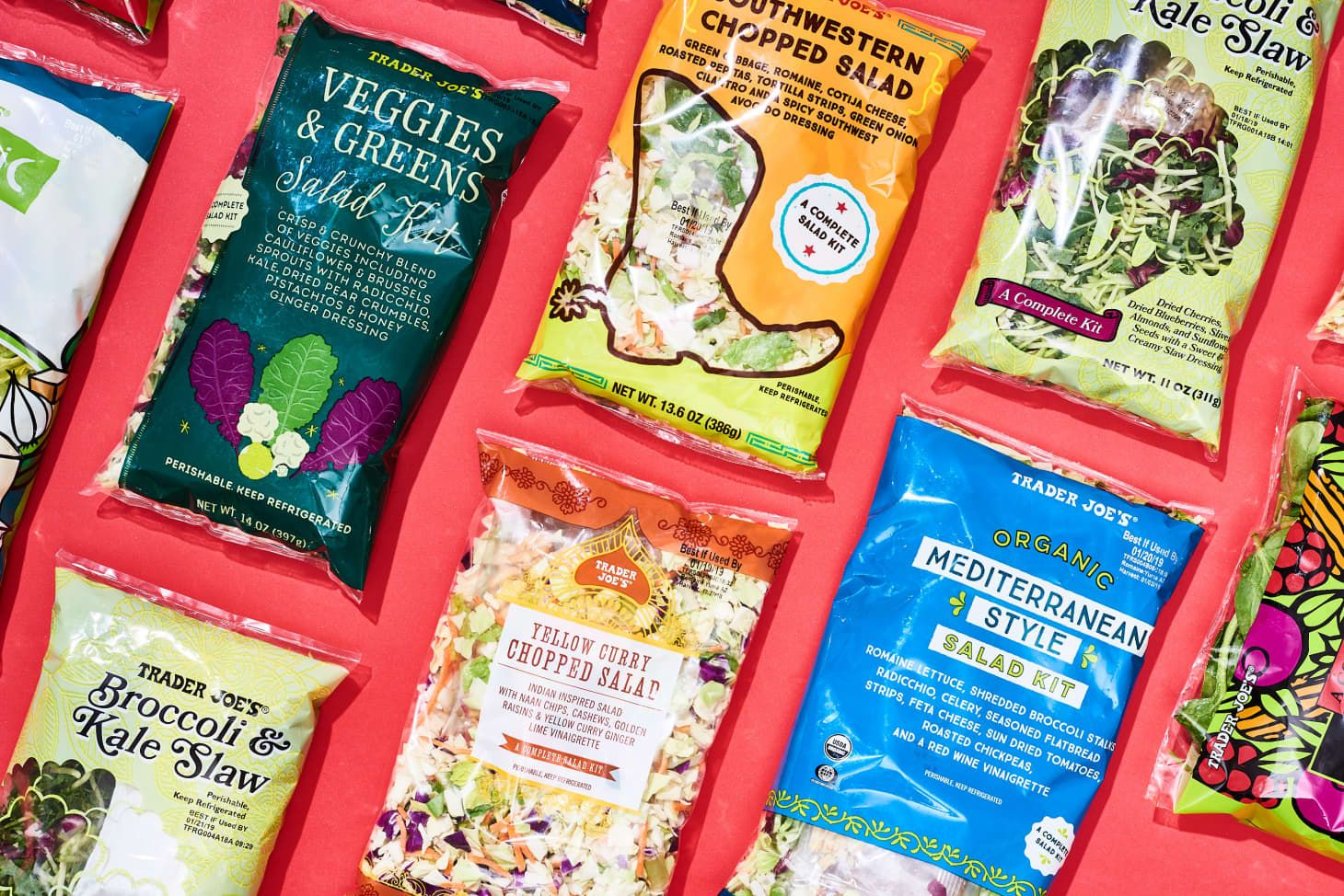 Our 5 Favorite Salad Kits From Trader Joe S In 2020 Salad Kits Trader Joes Trader Joes Salad