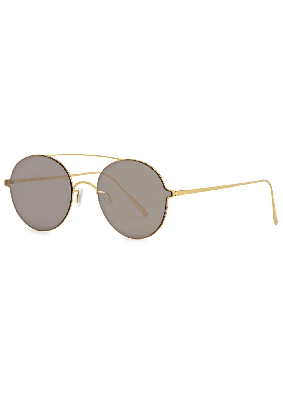ee95133de820d Exclusive to Harvey Nichols Gentle Monster gold tone titanium… Titanium  Glasses
