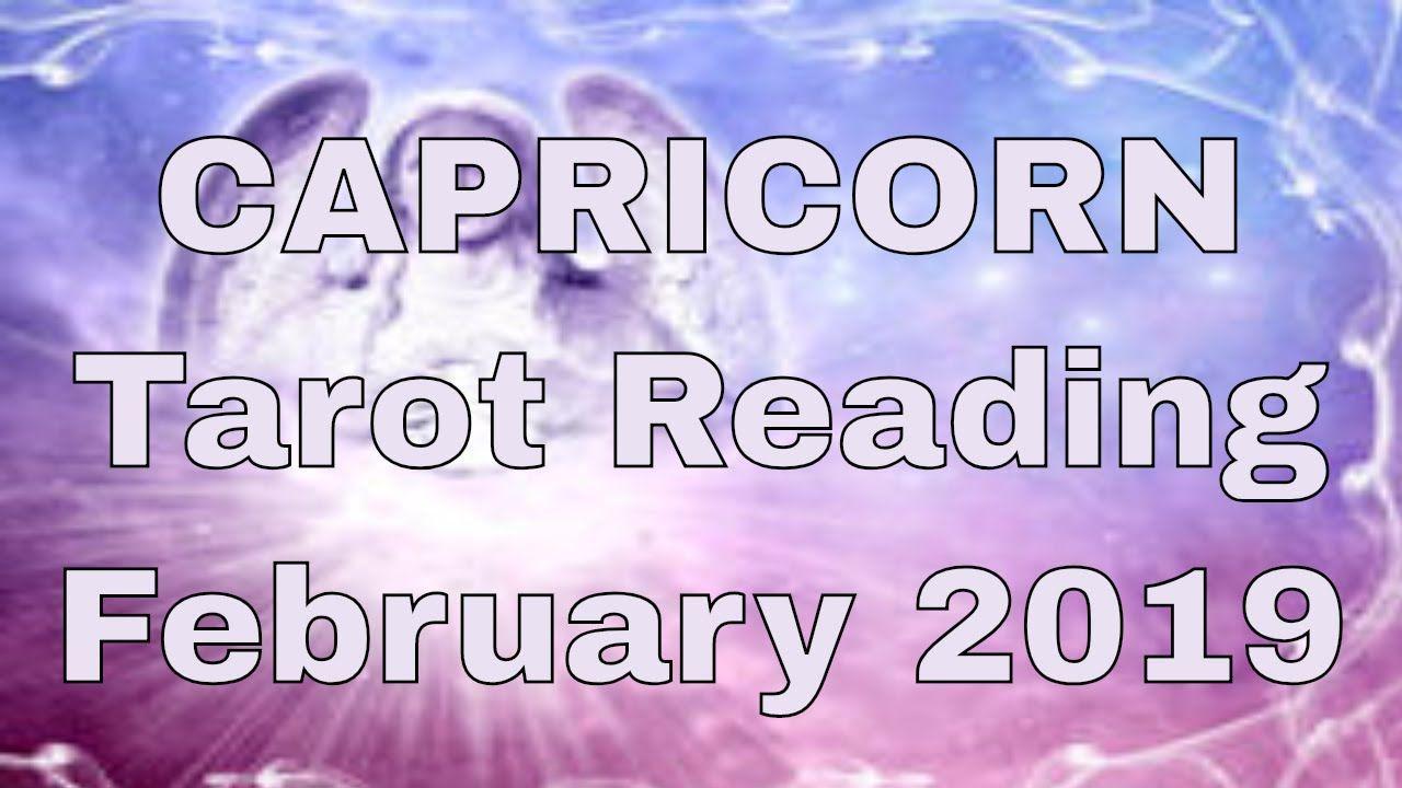 CAPRICORN Reading February 2019 - Fate & Destiny - Tarot by Sonia