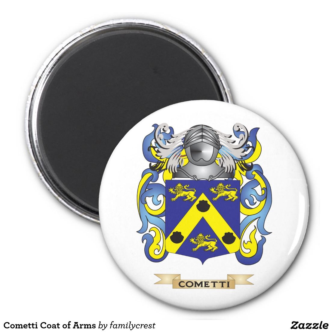 Cometti Coat Of Arms Magnet