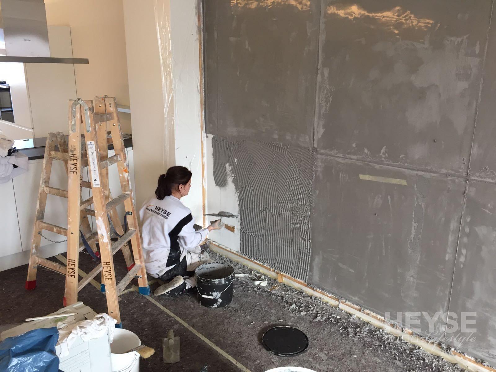 Top Referenz Wohnzimmerwand In Betonoptik Mit Schalungsfugen Betonoptik Schalung Betonoptik Wand