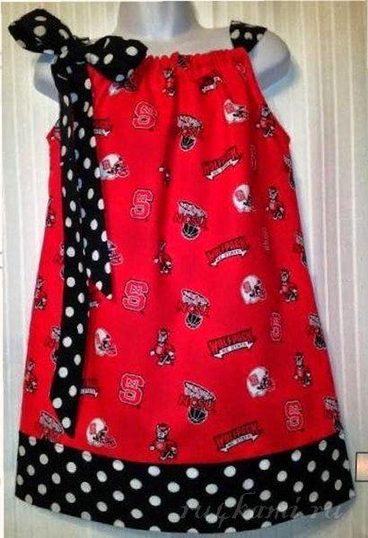 Шьем платье сами для девочки