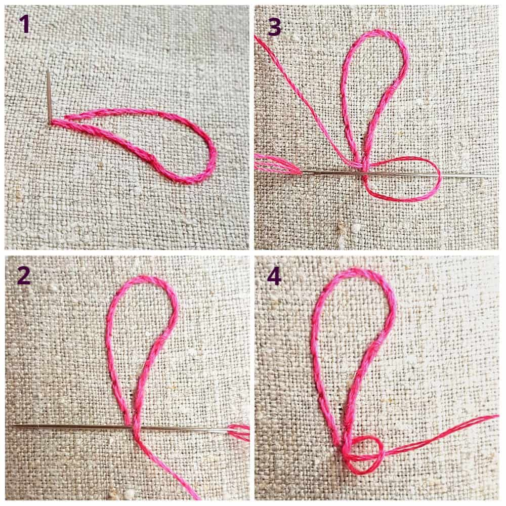 How To Start And Finish Your Embroidery Thread (With