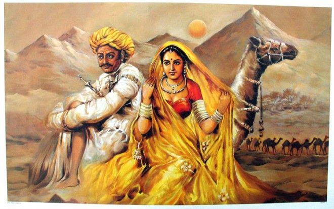 rajasthani paintings | Rajasthani painting, Rajasthani art ...