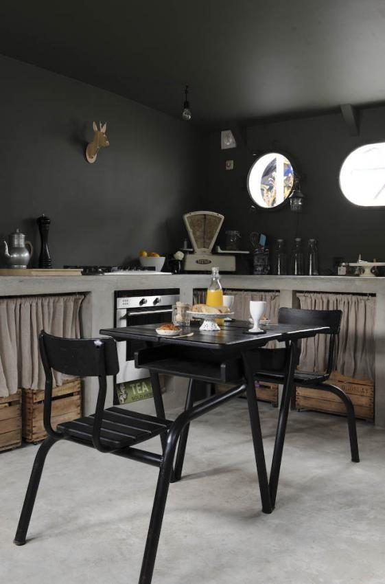 cuisine sur un bateau mouche PARIS cuisine Pinterest Bateau - peinture epaisse pour mur