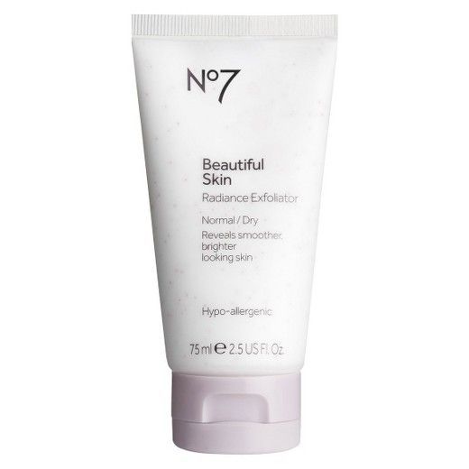 No7 Beautiful Skin Radiance Exfoliator 2 5 Oz Target No7