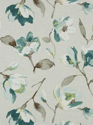 artistic fabric teal upholstery yardag