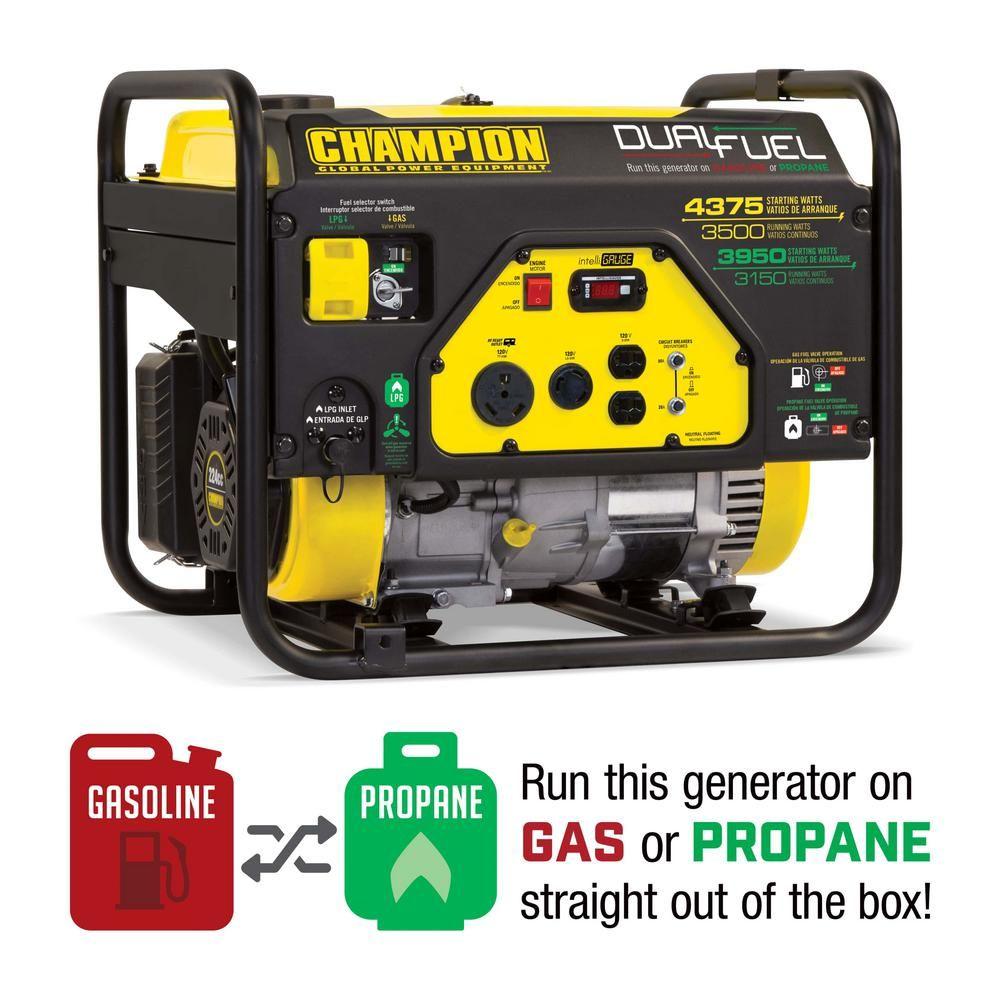 Champion Power Equipment 3500Watt Dual Fuel Powered RV