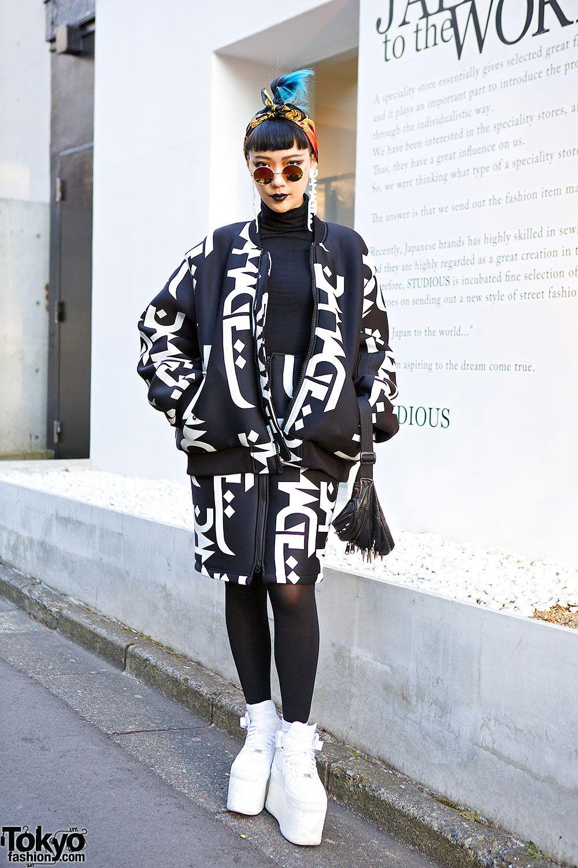 Joe, fashion designer from Taiwan & founder of the avant-garde fashion boutique MPM Studio (her pieces are available at Dog Harajuku (原宿) Shibuya (渋谷) Tokyo (東京) Japan (日本)