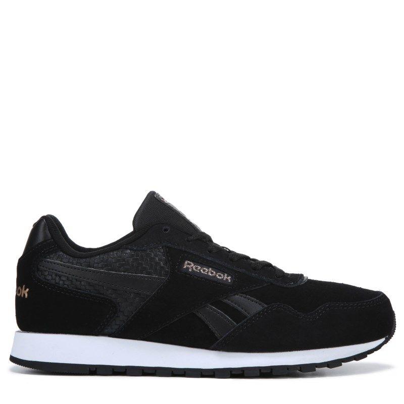23bc72d2617 Reebok Women s Harman Sneakers (Black Gold) Sneakers Fashion
