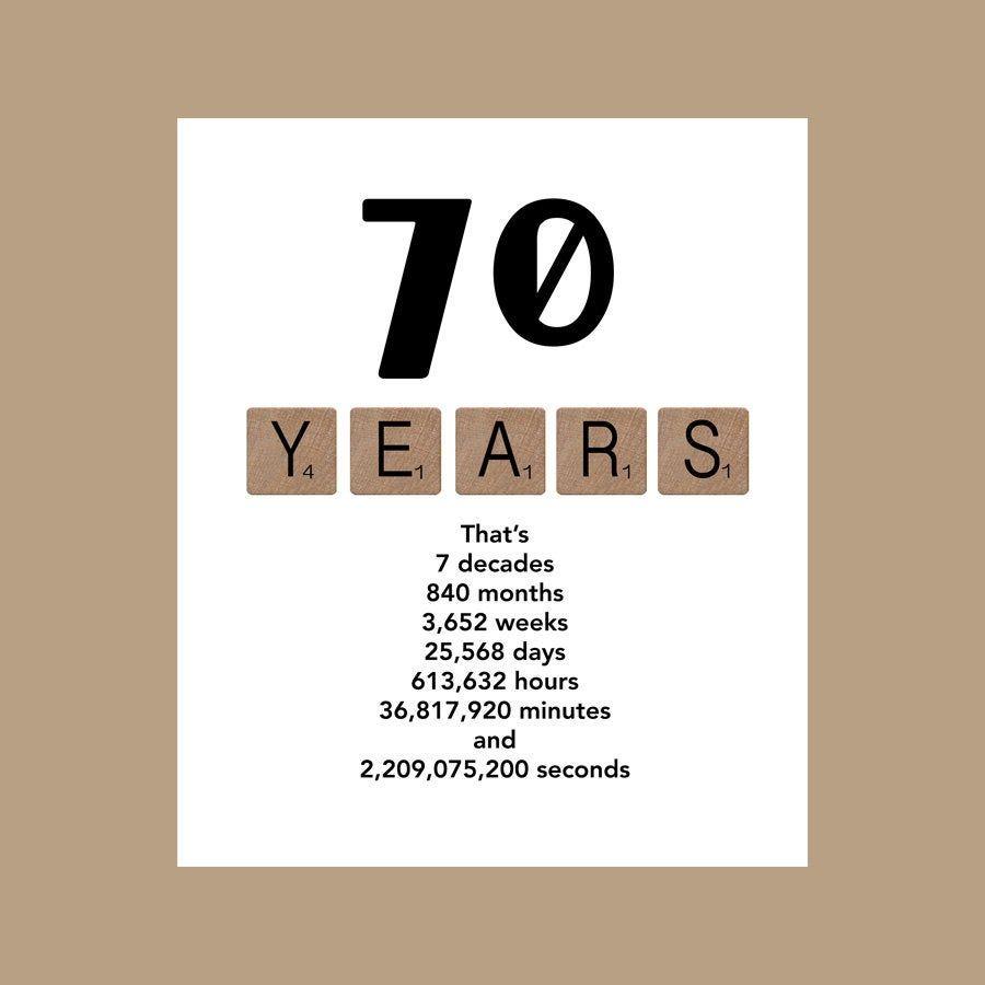 70e Anniversaire Carte Carte D Anniversaire Milestone Le Gros 70