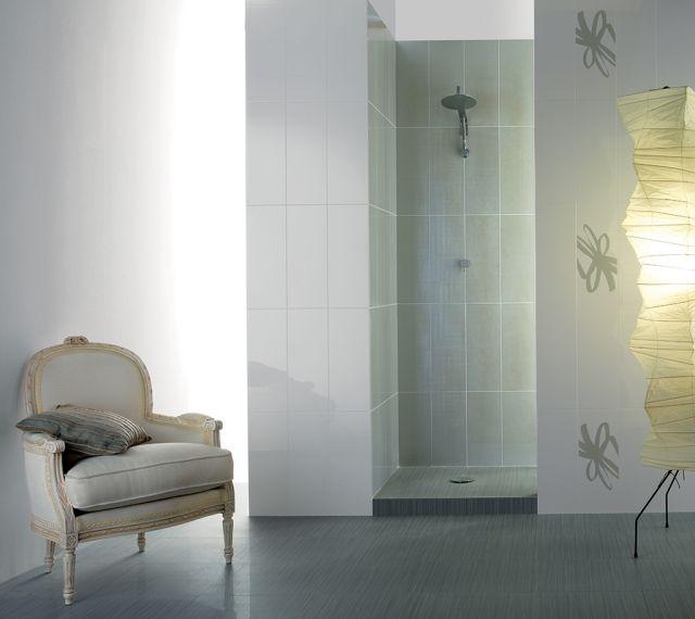 badezimmer-fliesen-fioranese-weiss-olivengruen Badezimmer - bodenfliesen für badezimmer