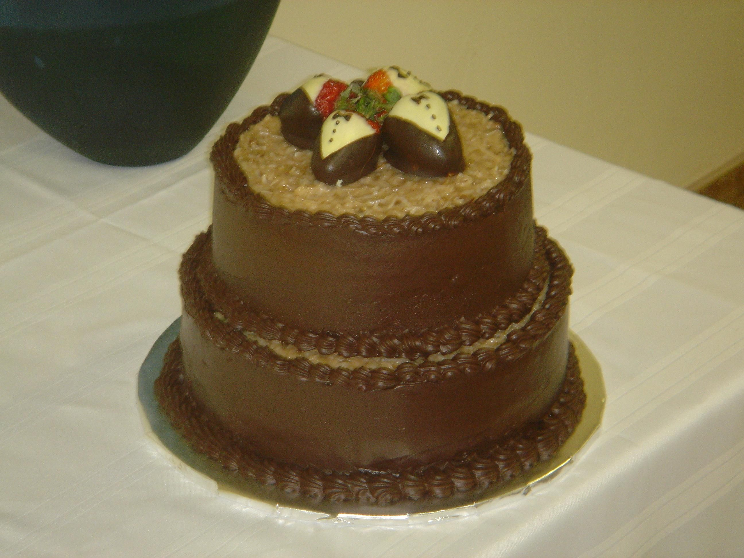 german chocolate wedding cake pictures | ... cake was a German ...