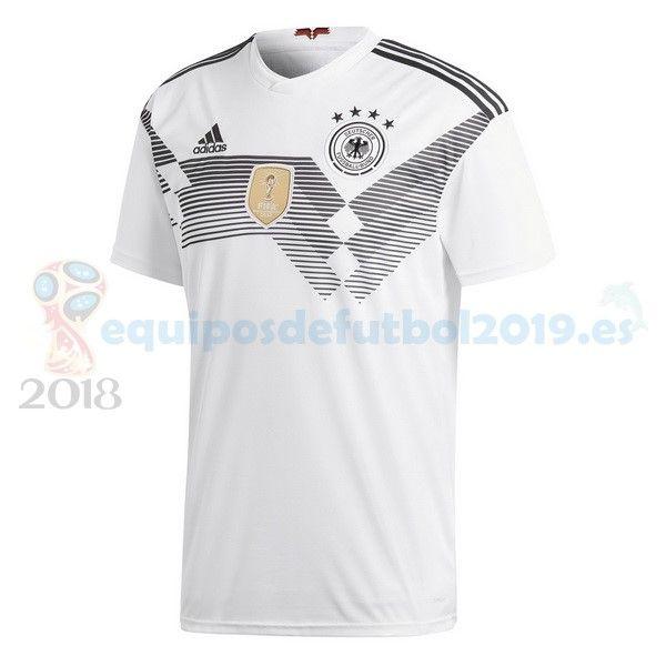 Futbol Originales Casa Camiseta Alemania 2018 Blanco ... 4085d12c0374d