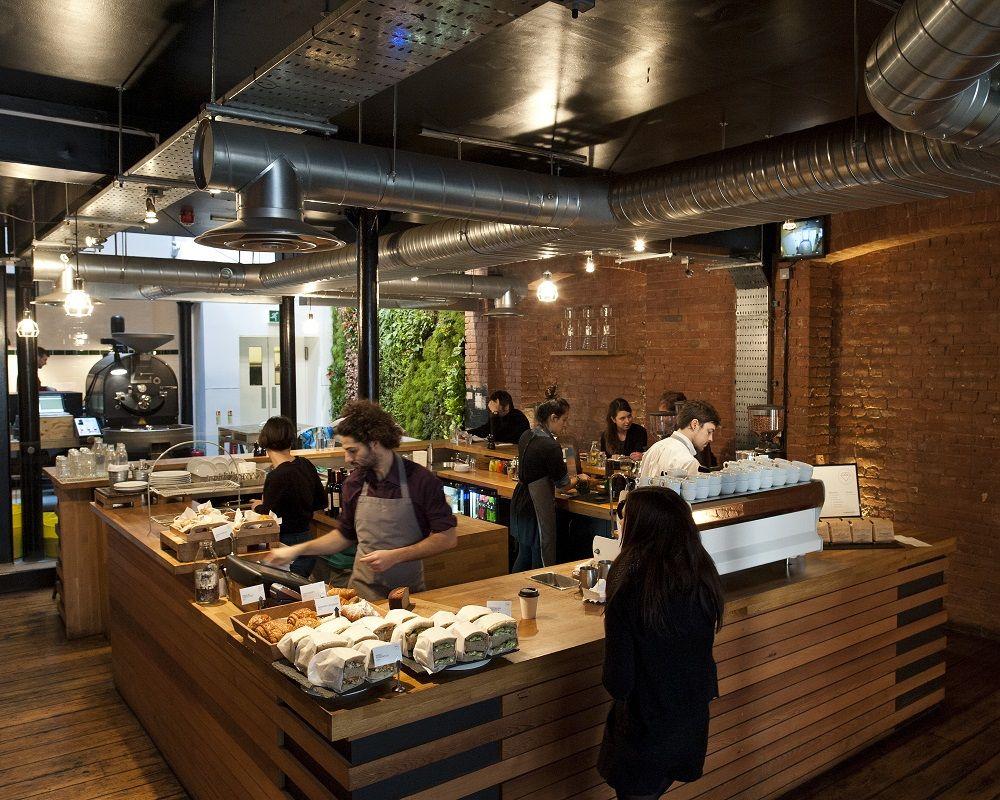 Workshop Coffee Co Brunch In London Clerkenwell Road