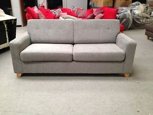 John Lewis Zack Sofa Bed Serene Shale Brand New Was 899 Ebay Sofa Living Room Furniture Furniture