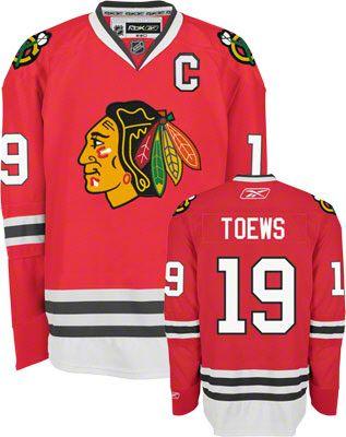 480bd133bb1 Jonathan Toews Jersey: Reebok Red #19 Chicago Blackhawks Premier Jersey