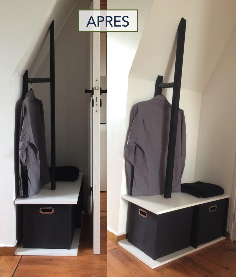 Fabriquer Valet De Chambre un valet de chambre dans un petit recoin | valet de chambre