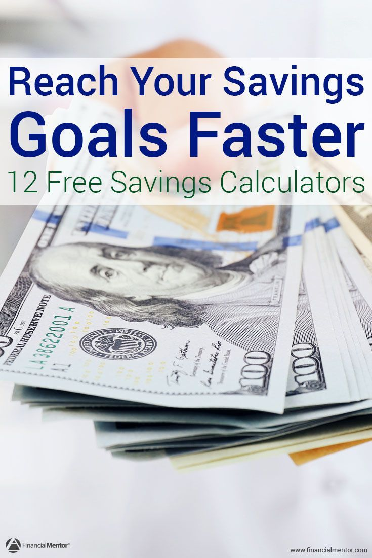 Saving Money Gives You Optionore Freedom Than Ever Had Before But It Can Be Hard To Do These Free Calculators Help Achieve Your Savings