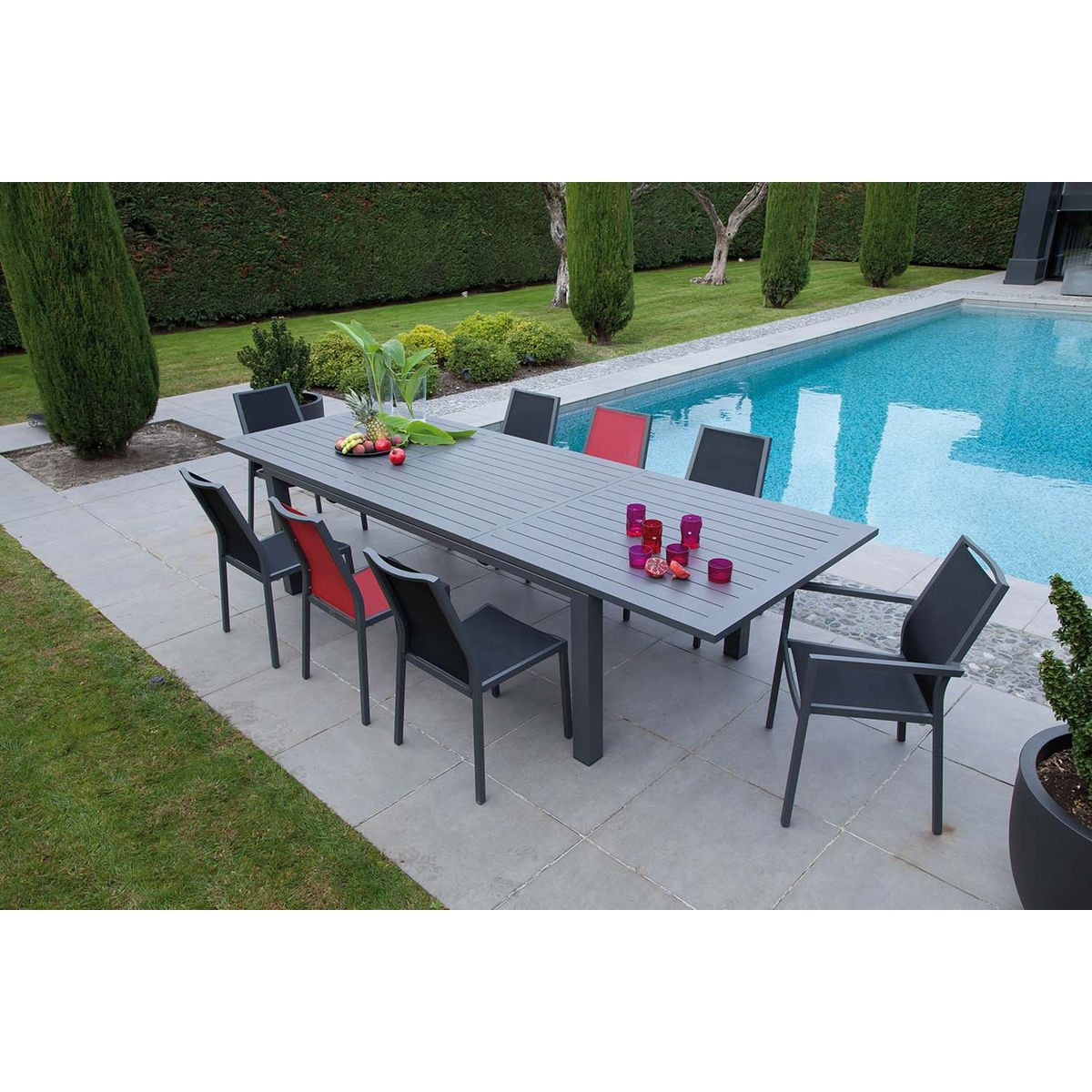 Fauteuils en aluminium brossé Ida (Lot de 2) | Products ...
