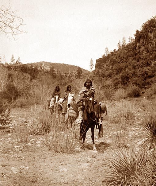 Apache Women on Horses | oF the EqUUs sort | Native ...