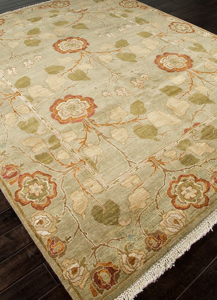 Jaipur opus op27 hand knotted wool 10x14 in stock