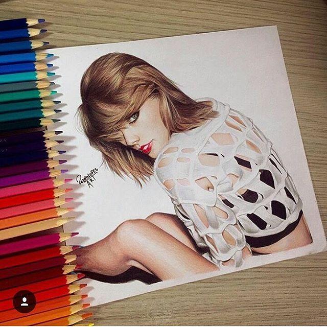 TAYLOR SWIFT #morning  BY- @pedrolopesart ❤ #arts_help #fashion4arts #desenhos #sempredesenhando #arts #gallery #instagram #desenhandosempre #croqui #artista #realismo #illustration #designer