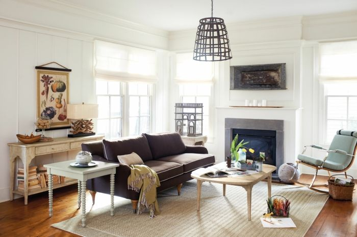 schaukelstuhl wohnzimmer kamin wohnaccessoires cooler leuchter - wohnzimmer mit kamin bilder