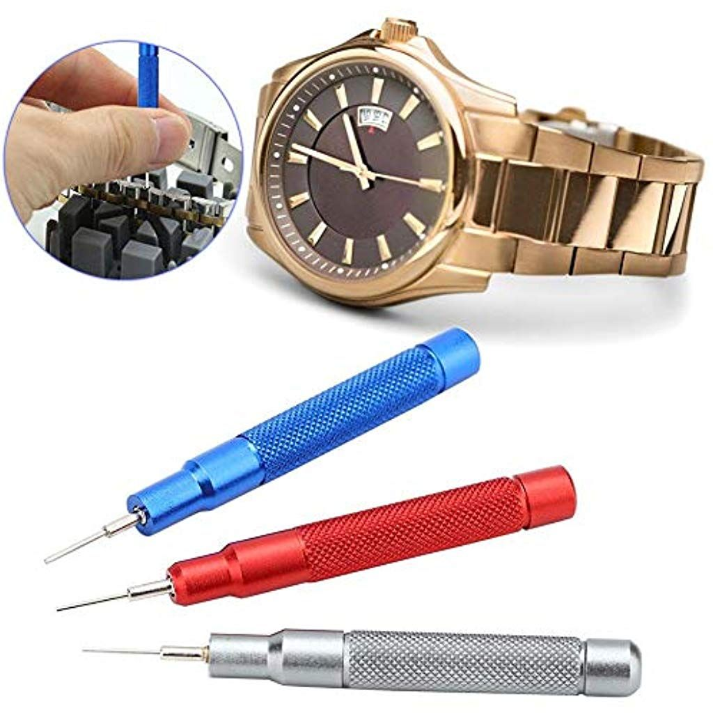 Watch Strap Link Pin 3pcs Band Spring Bar Remover Watchmaker