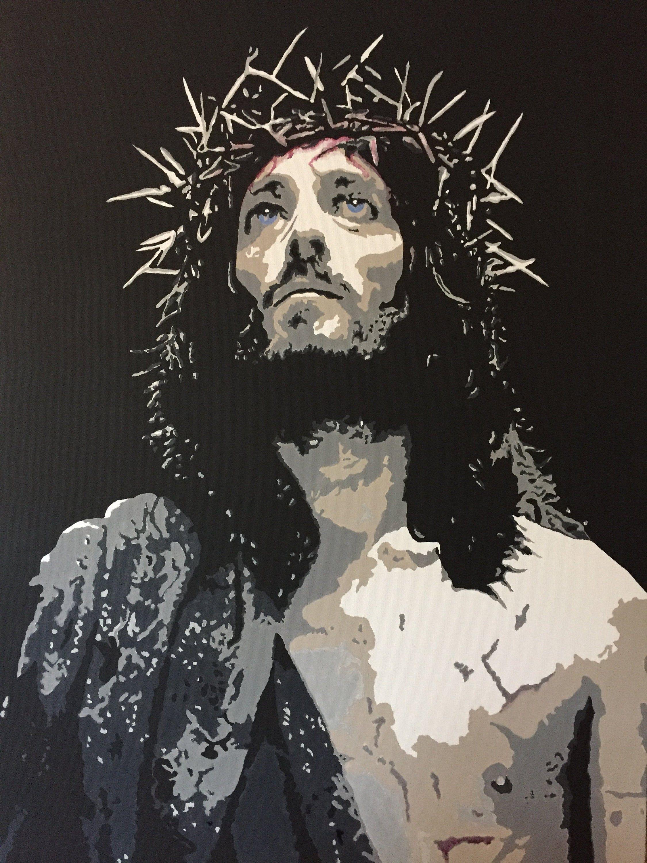 Quadro Moderno Dipinto A Mano.Jesus Christ Faith Quadro Moderno Dipinto A Mano Style Pop Art Etsy Dipinti Moderni Pop Art Dipinti Artistici