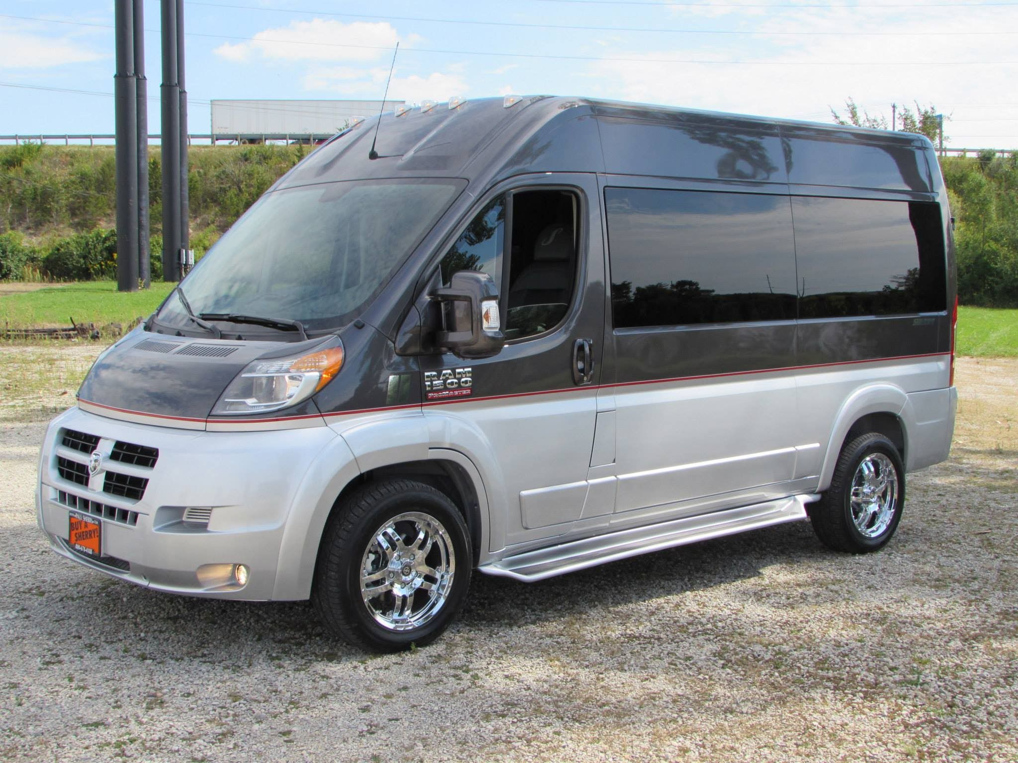 2014 Ram Promaster Commercial Conversion Van Start Up Test Drive And