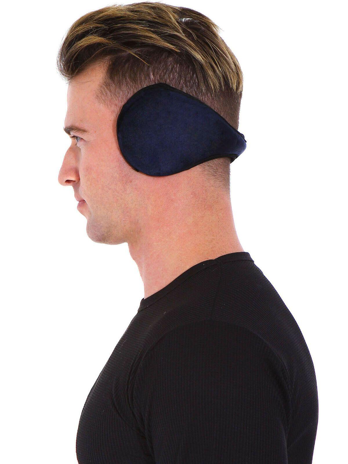 Mens Winter Ear Muffs Fleece Earwarmer Ear warmers Behind the Head Design - Ear  Muffs #earmuffs #earmuff - Mens Win…   Ear warmers, Earmuffs, Electronic ear  muffs