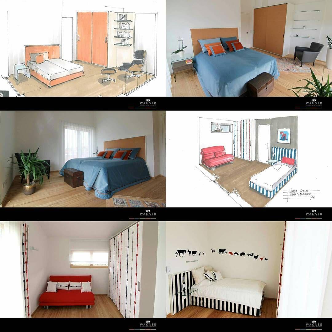 """FINE, ELEGANT & HIGH QUALITY""  guest room & nursery produced by  #wagnermoebelmanufaktur #inspiration #interiordesign #modern #handmade #hardwork #madeingermany #mindelheim #guestroom #nursery"