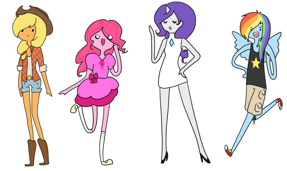 Crossover MLP / Adventure Time