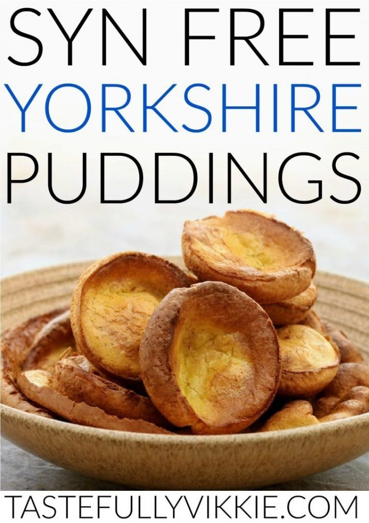 Photo of Syn Free Slimming World Yorkshire Pudding – Geschmackvoll Vikkie