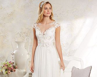 Modern Vintage Bridal Gowns and Wedding Dresses from Alfred Angelo ...