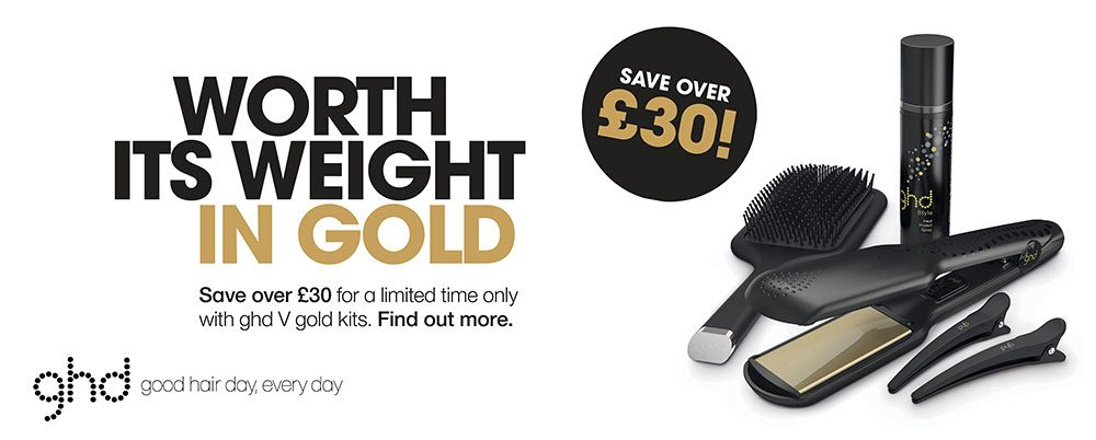 GHD WORTH ITS WEIGHT IN GOLD SAVE OVER £30