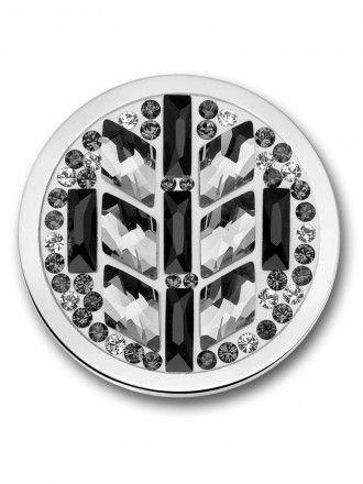 Mi Moneda Salsa Black & White. Swarovski stenen.