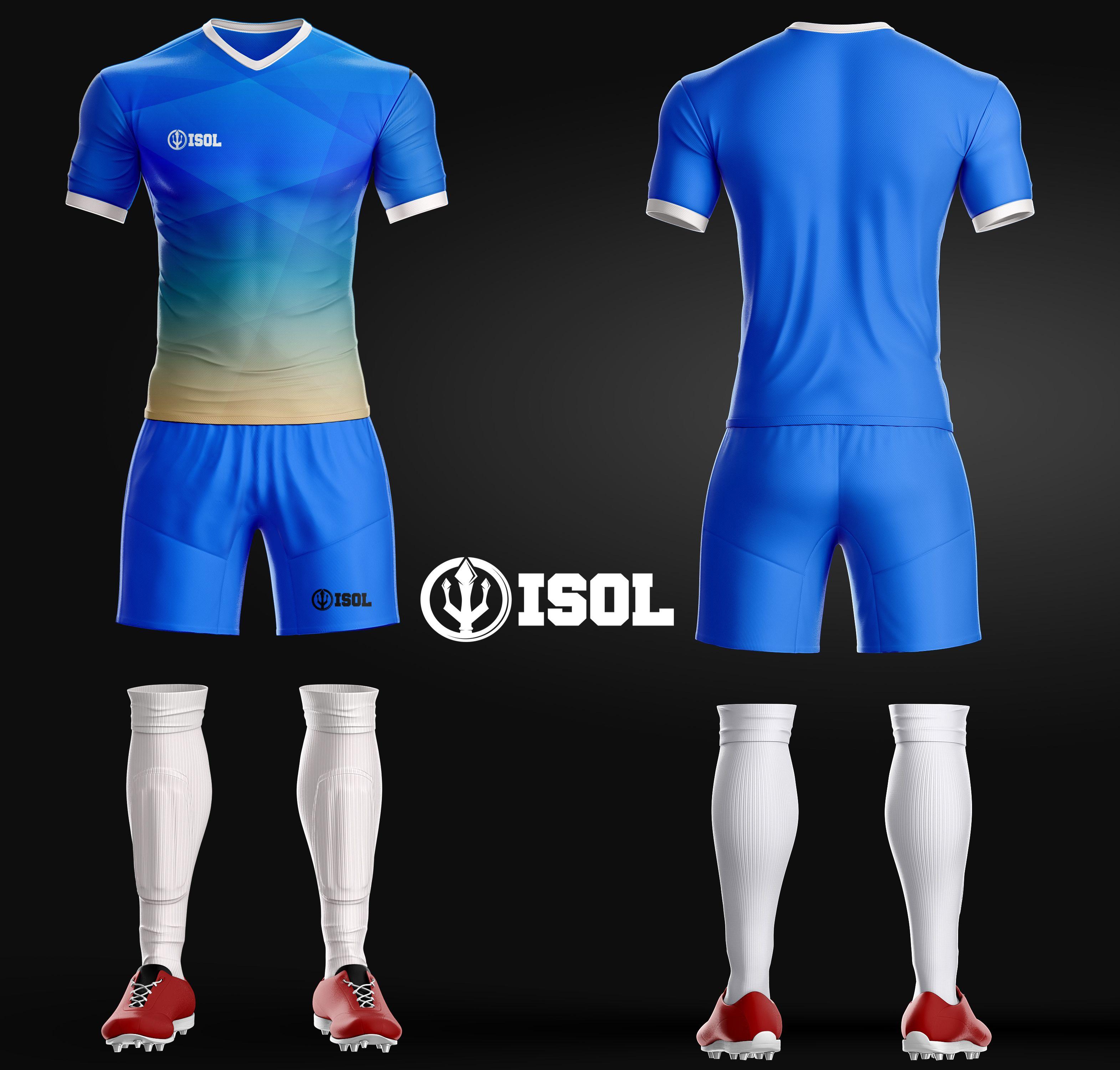 Custom Jersey Futsal Keren Polos Dan Printing Sepak Bola Sepatu Sepakbola Desain