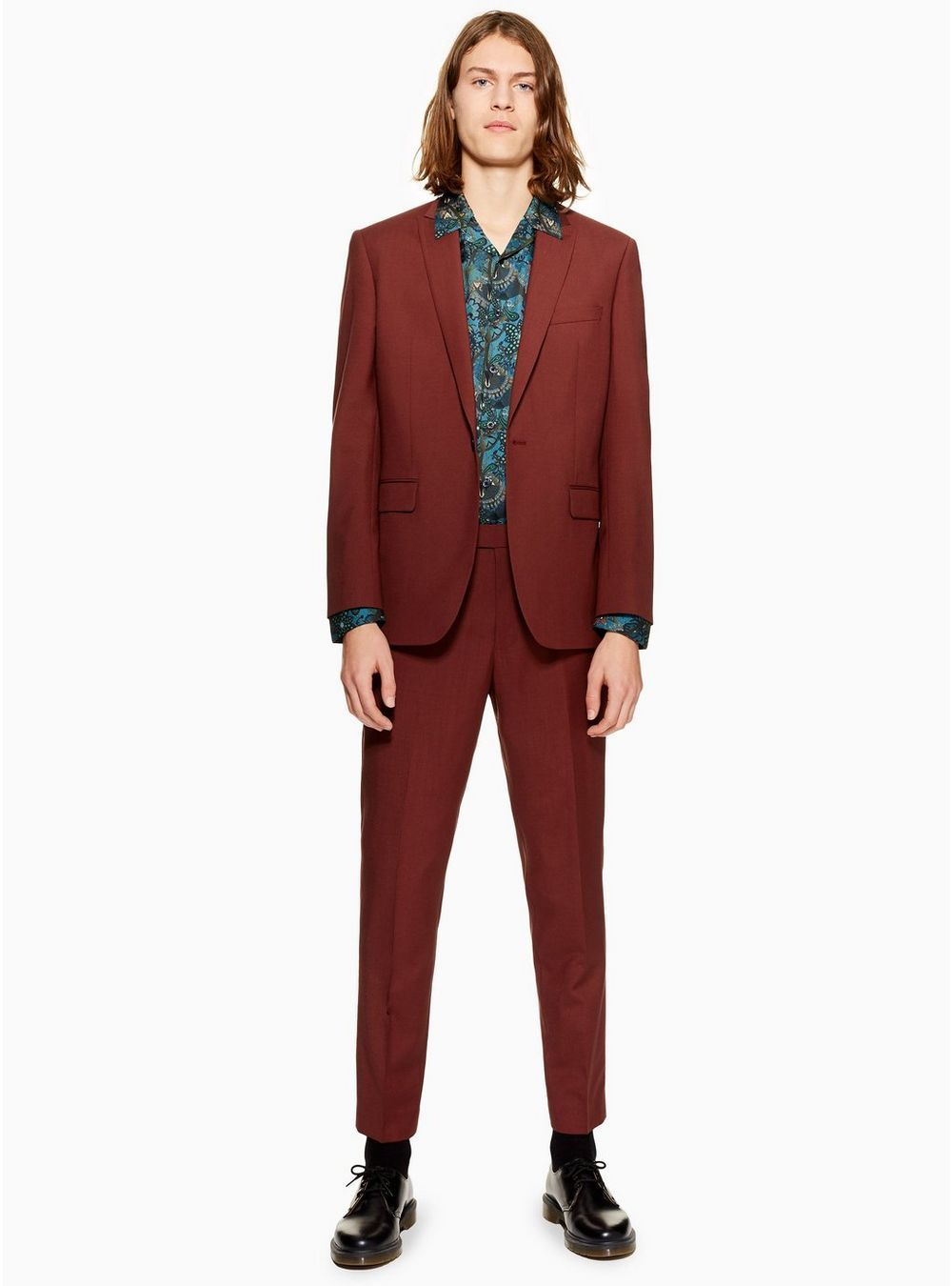 variety of designs and colors sale uk top-rated authentic CHARLIE CASELY-HAYFORD X TOPMAN Red Suit in 2019 | 2019 ...