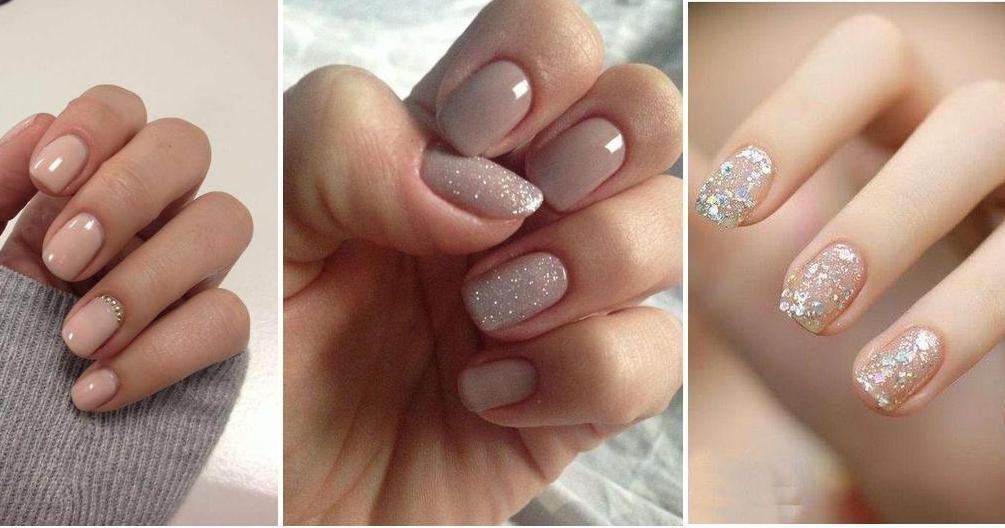 Diseños De Uñas En Tonos Nude Muy Elegantes Nails