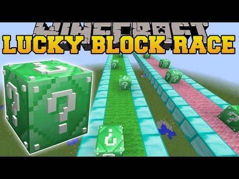 Minecraft Pacman Challenge Games Lucky Block Mod Modded Mini