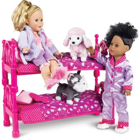 my life as bed with bedding 18 doll pink walmart com gift rh pinterest com