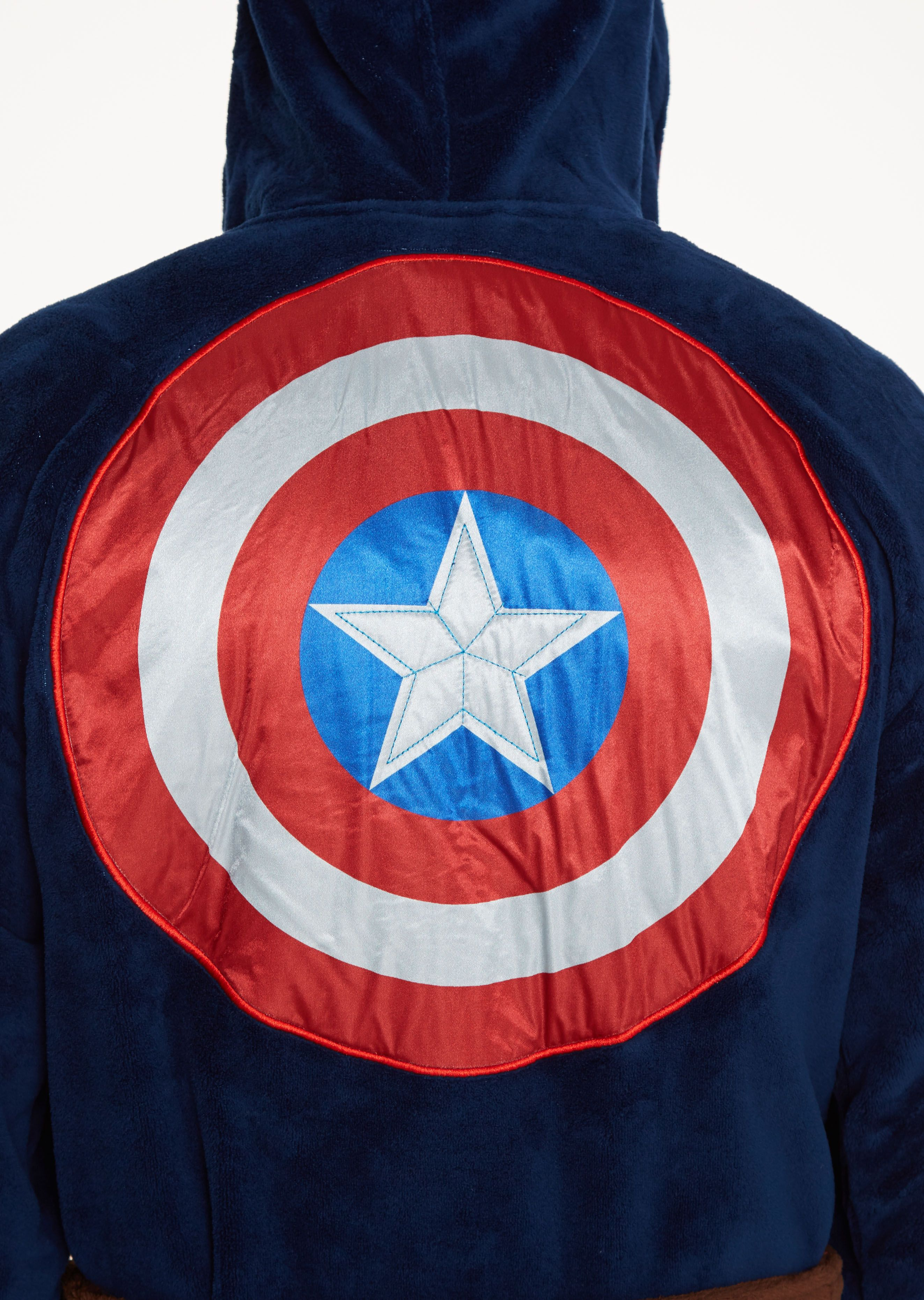 Marvel Captain America Civil War Outfit Bathrobe.  f13401c32